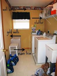 Easy Laundry Room Makeovers Easy Laundry Room Makeover Ideas Laundry Room Ideas Laundry