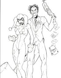 coloring books harley quinn book pages to and print for