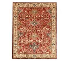 Persian rugs White Channing Persianstyle Rug Pottery Barn Oriental Rugs Persian Rugs Pottery Barn