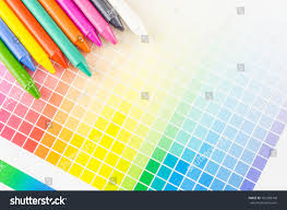 Crayon Color Color Chart Stock Photo Edit Now 181289798