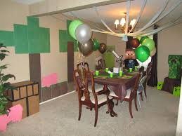 Minecraft Party Decorations 17 Best Ideas About Minecraft Decorations On Pinterest Minecraft