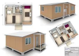 1 Bedroom House Design 50sqm Plans