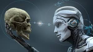 skull machine robot