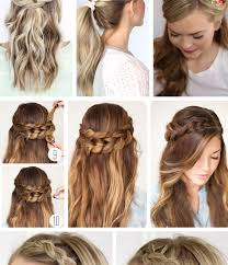 Quick Hairstyles For Short Hair 24 Best Frighteningirstyles That Are Easy To Do For Longir Yourself On