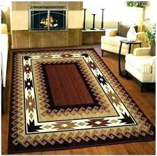rustic cabin lodge area rugs hunting cab log home design cabin lodge area rug