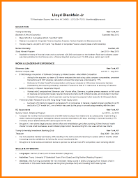 7 Investment Banking Resume Template Letter Signature