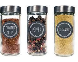 Decorative Spice Jars Spice labels Etsy 14