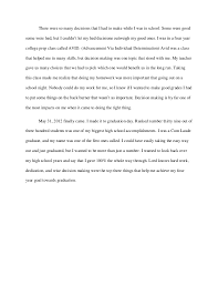graduation narrative essay 2 narrative essays examples for high school