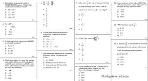 cahsee pt i 1to13 interactive worksheet number sense youtube free ...