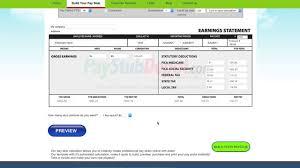 Online Pay Stub Generator Online Pay Stub Fake Pay Stub Pay Stub Generator Paystubdepot
