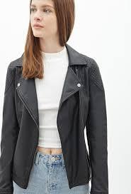 jou distressed faux leather moto jacket juniors cairoamani com