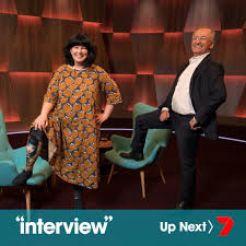 "Andrew Denton's ""Interview"" on Twitter: ""After the break, our first ever  Guest Chair segment featuring every day aussies sharing their amazing  stories and lives. Get ready to meet the delightful Priscilla Sutton! #"
