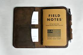 benrud s field notes cover w pen holder