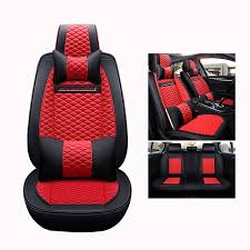 automobiles high quality leather car seat covers for toyota camry 40 50 2007 2008 2009 2016 2018 fortuner 2017