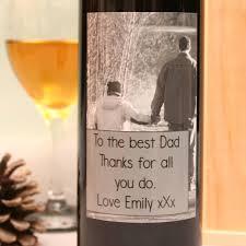 personalised world s best dad wine gift set