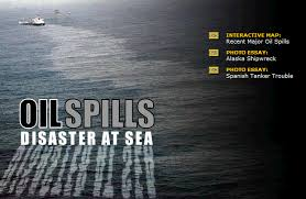 oil spills disaster at sea elearning examples oil spills disaster at sea