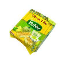 Bánh Kem Xốp Yofer Thái Lan 408Gr Vị Dưa Lưới