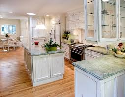 White Distressed Kitchen Cabinets Kitchen Traditional With Appliance Panels  Bay Area