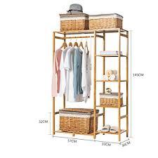 Wooden Coat Rack With Storage Adorable Amazon Cabinet Type Hanger Simple Wooden Coat Rack Clothes
