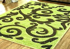 lime green and brown area rugs blue rug medium cream large size of