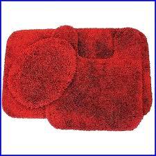 red bath rugs bathroom mats