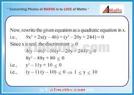 solved problems 10 2 algebra 1 quadratic equation iit
