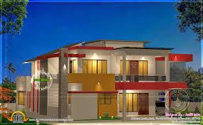 modern 4 bhk house plan in 2800 sq feet