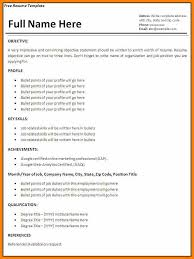 resume model for job 7 model resume for job edu techation
