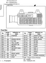 1996 isuzu mu fuse box diagram 1996 wiring diagrams