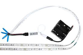miniature led light strips and rgb battery powered led kit multicolor 2 portable with rgb strip connection 800x533px