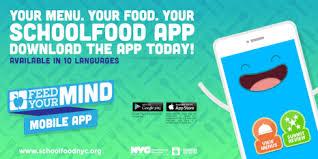 Image result for nyc doe food app