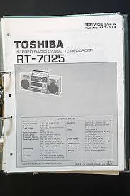 toshiba rt 7025 original service manual manual wiring diagram top toshiba rt 7025 original service manual manual wiring diagram top condition o33