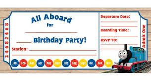 Train Ticket Party Invitation Template Train Ticket Invitation