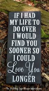Wedding Love Quote Signs