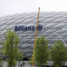 EM 2021 in München: Allianz Arena umbenannt - Schriftzug ist schon  abmontiert