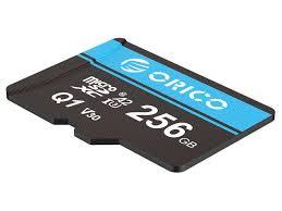 <b>ORICO</b> Ultra 256GB <b>Micro SD Card</b> Class 10 <b>Memory Card</b> with ...