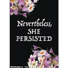 She Persisted Quote New Nevertheless She Persisted