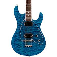 Ernie Ball Music Man BFR Steve Morse HH Quilt Top Electric Guitar ... & Ernie Ball Music Man BFR Steve Morse HH Quilt Top Electric Guitar w/Reverse  Headstock Adamdwight.com