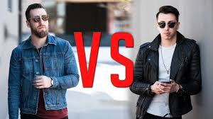 denim vs leather jackets which is more bad ass gent s lounge