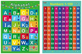 Number Chart For Toddlers Amazon Com Number Chart 1 100 For Kids