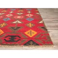 red dhurrie rug red rugs red and black dhurrie rug