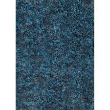 picture of serene cocoa blue rug 5x7