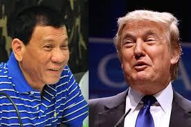 Image result for President duterte and Trump