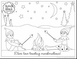 Small Picture Joyous Elf On The Shelf Coloring Pages Elf On The Shelf Coloring