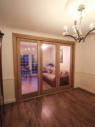 oak bi folding doors signle glazed made to measure enfield en2