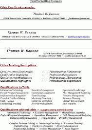 Resume Headings Extraordinary Best Resume Headers Durunugrasgrup