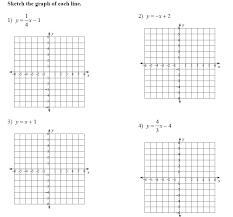 graphing slope intercept form worksheet doc kidz activities