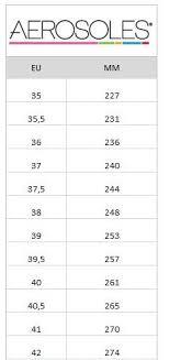Aerosoles Size Chart Buy Aerosoles Shore Thing Nude Shoes Online Footway Co Uk