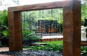 outdoor patio and backyard medium size outdoor patio water feature wall features rock fountains water