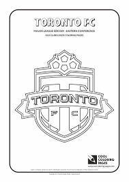 Cool Coloring Pages Mls Soccer Clubs Logos Coloring Pages Cool